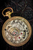 Pocket watch klocka — Stockfoto