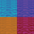 Four tranquil water pattern — Stock Photo