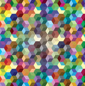 Background from color cubes, — Stock Photo