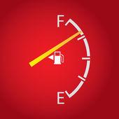 Gas gage — Stock Photo