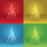 Abstract christmas trees — Stock Photo #13923576