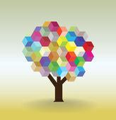 Tree symbolic picture — Stock Photo