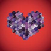 Serce streszczenie symbol — Zdjęcie stockowe