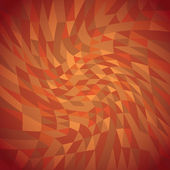 Twisted triangles background — Stock Photo