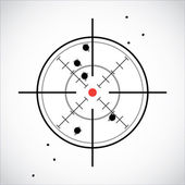 Crosshair — Stock Photo