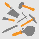 инструменты мейсон — Стоковое фото
