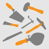 Mason tools — Stock Photo