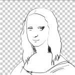 Mona Lisa Sketch — Stock Photo #38326735