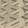 Stock Photo: Plenty of tickets