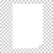 空白页 — 图库照片