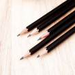 Black pencil — Stock Photo