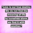 Inspirational quote words by Thomas Merton on pink background — Stock Photo
