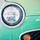 Nakhon Pathom, Thailand - August 28 : Green Vintage Car in Exhib — Stock Photo