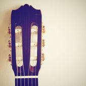 Klassisk gitarr — Stockfoto