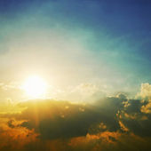 Dramatická obloha — Stock fotografie