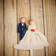 Wedding couple doll — Stock Photo #37035693