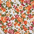Stock Photo: Flower wallpaper textile