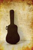 Old guitar case — Stok fotoğraf