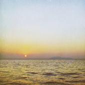 Soluppgången över havet — Stockfoto