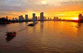 Bangkok manzarası — Stok fotoğraf