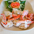 Steamed crab — Stock fotografie #37816329