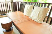 Relaxing seat sofa — Stockfoto