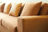 Sofa in living room — Stockfoto