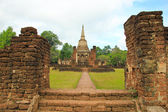 Ruins of temple — Stock Photo