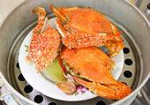 Crabes en pot — Photo
