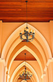 Arched of church — Stock Photo