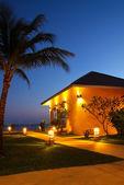 Resort at night — Stock Photo