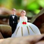 Wedding couple doll — Stock Photo
