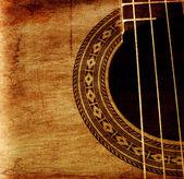 Part of guitar — Stock Photo