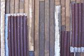 гофрированного железа — Стоковое фото