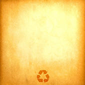 Vintage recycled paper — Stock Photo