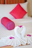 Honey moon bed suite — Stockfoto
