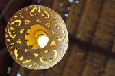 Ceramic lamp — Stock Photo
