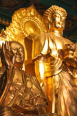Sculpture of buddha — Stock Photo