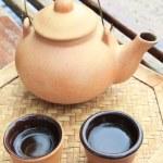 Chinese tea set — Stock Photo #39259187