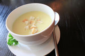 Cream soup — Stock Photo