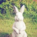 Statue of rabbit — Stock Photo