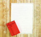 Pudełko z papieru uwaga — Zdjęcie stockowe