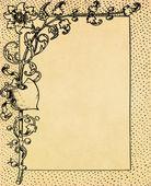 Blume rahmen — Stockfoto