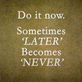 Inspirational motivating — Stock Photo