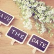 Save the date — Stock Photo #43282869