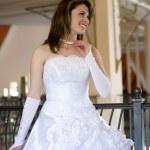 Happy bride — Stock Photo #6663360