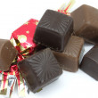 Stock Photo: Chocolate bonbons
