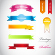 Color ribbons — Stock Photo #13763295