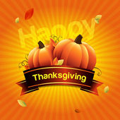 Thanksgiving day with place for your text — Stock Photo