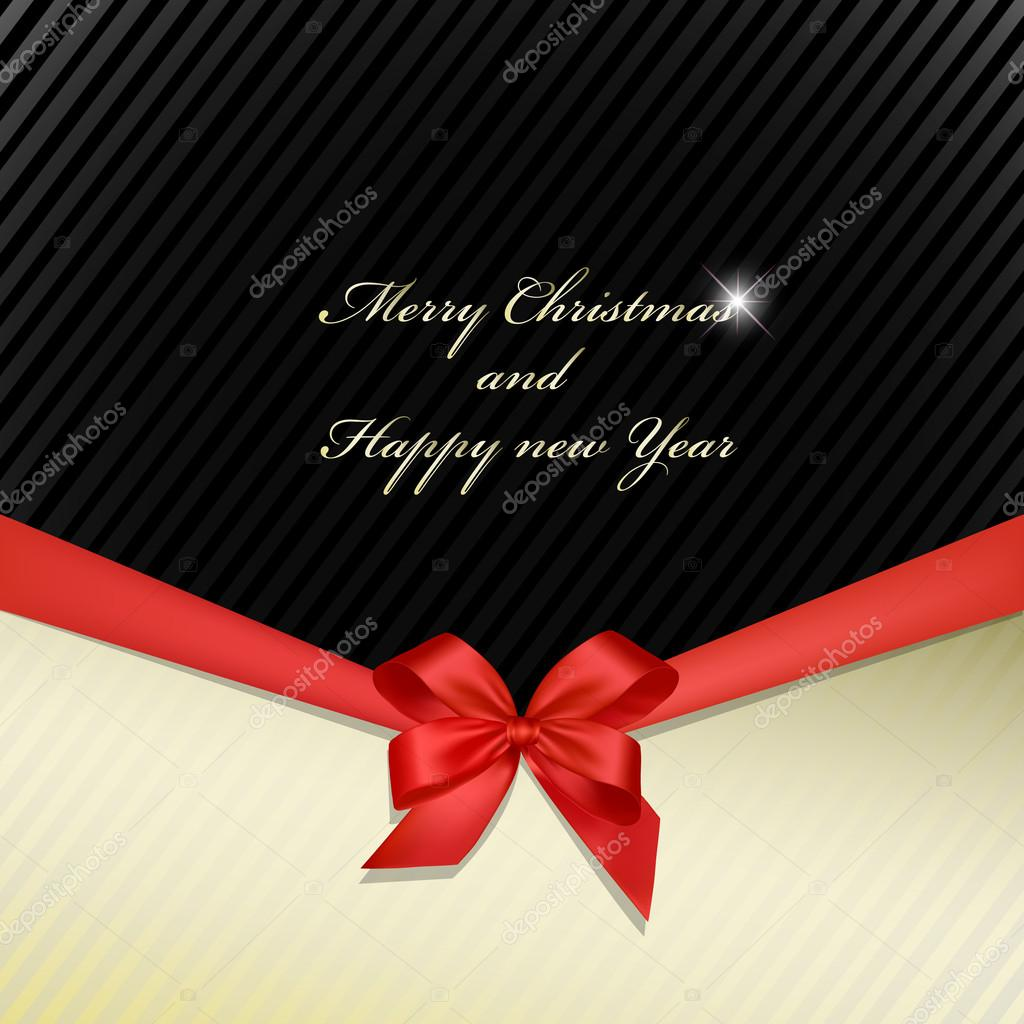 Greeting cards with ribbon  Stock Photo #16047087